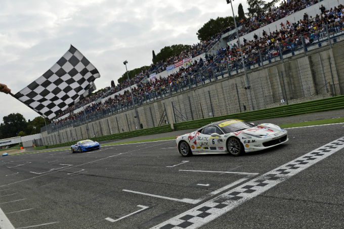 Ferrari Challenge Europa – Trionfano Skryabin, Casè, Di Amato e Guedes