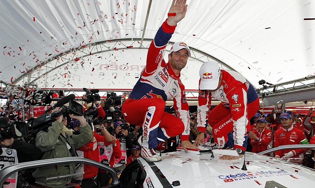 WRC – Loeb e Citroën mondiali
