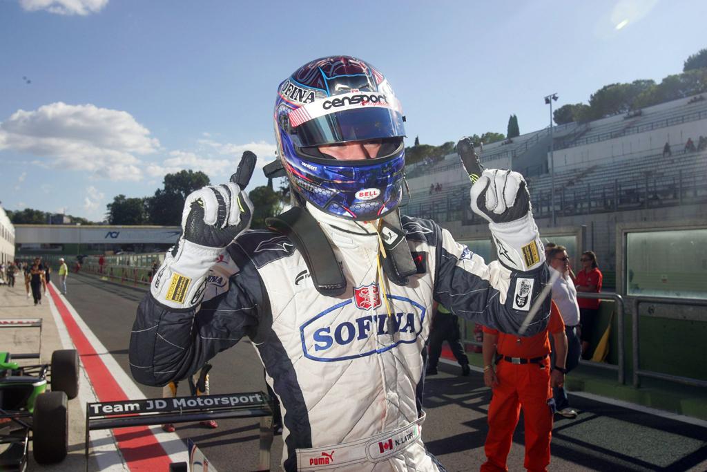 F.3 – Nicholas Latifi scopre la pista di Monza
