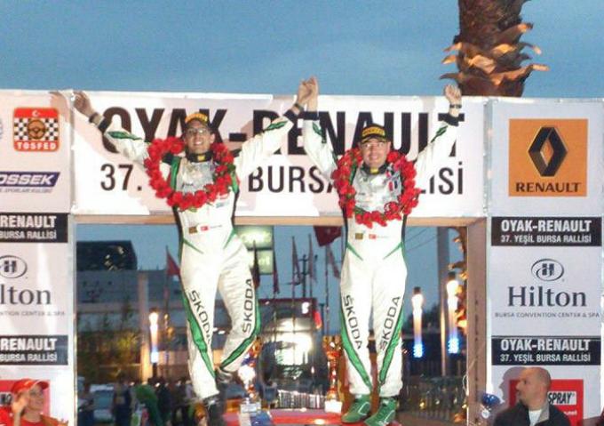 Luca Rossetti campione in Turchia