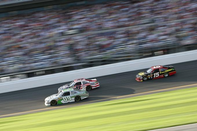 Nascar Sprint Cup – Bowyer festeggia al Charlotte Motor Speedway