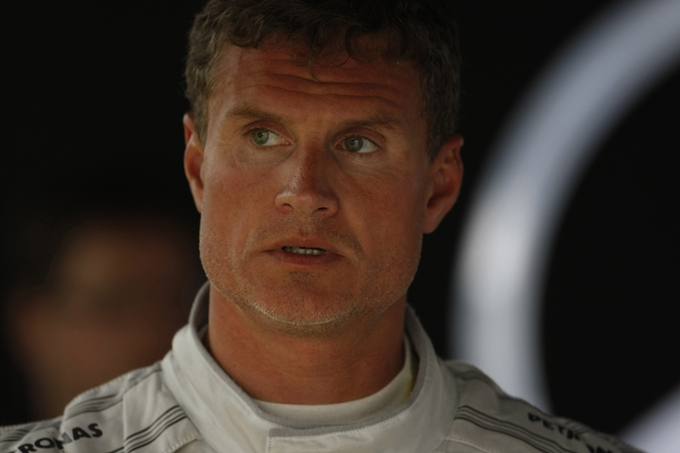David Coulthard alla Race of Champions