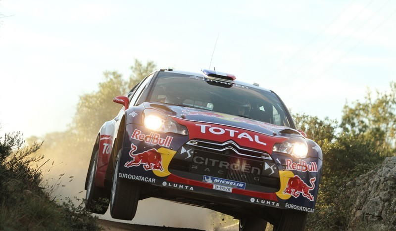 WRC- In Sardegna Loeb è in testa dopo due speciali
