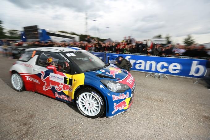 WRC – Loeb comanda in Francia nella prima giornata
