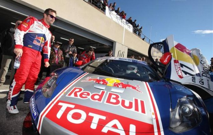 Loeb terzo all'ultimo round del GT francese
