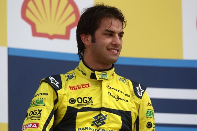 F 3 – Felipe Nasr allo start a Macao