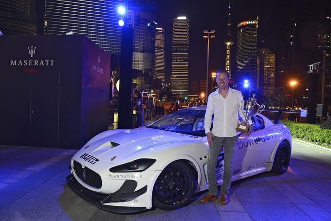 Il Trofeo Maserati saluta tutti in Cina