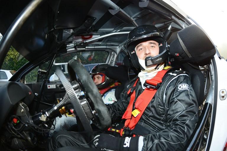 Kubica vince il Rally di Como