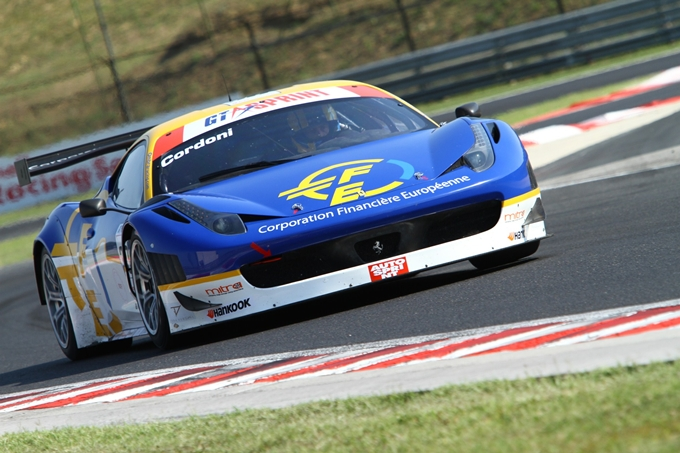 GTSprint International Series – Esordio da campione per Cordoni