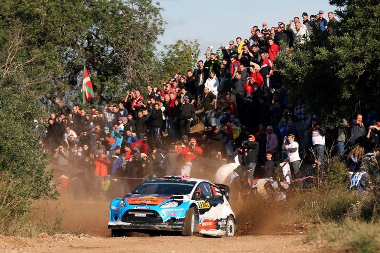 WRC – Sul fango spagnolo comanda Ostberg
