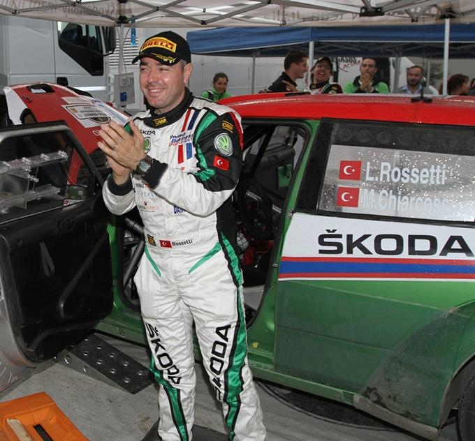 Luca Rossetti al 21° Rally Internazionale Il Ciocchetto