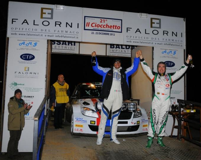 Luca Rossetti domina il Rally Il Ciocchetto