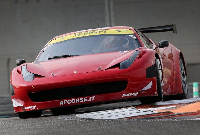 """La Ferrari """"raddoppia"""" nella Gulf 12 Hours"""