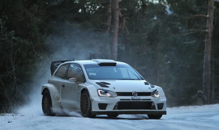 WRC – La Volkswagen prova a Montecarlo