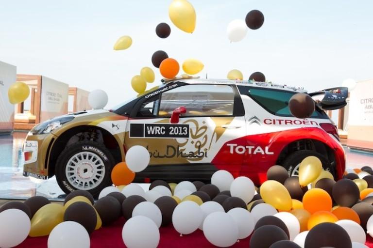 WRC – Presentato ad Abu Dhabi il nuovo team Citroën