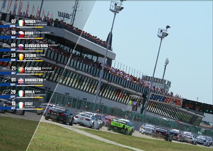Superstars International Series – Svelato il calendario 2013