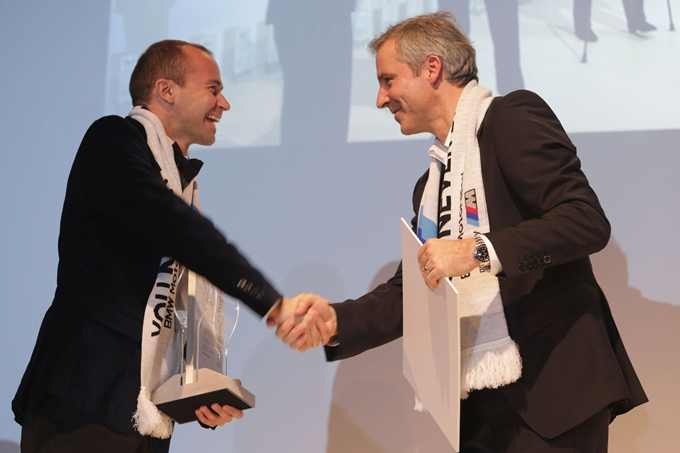 Thomas Biagi premiato al BMW SPORTS TROPHY AWARD 2012