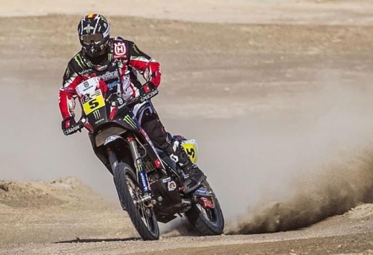 Dakar 2013 – Nelle moto quarta tappa a Barreda