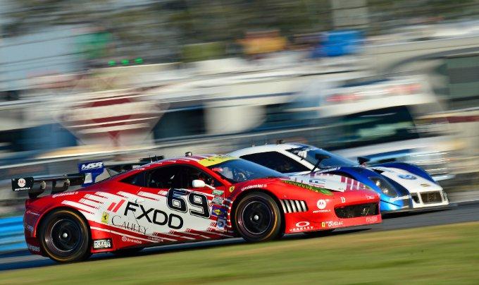 Ferrari sul podio della 24 Ore di Daytona