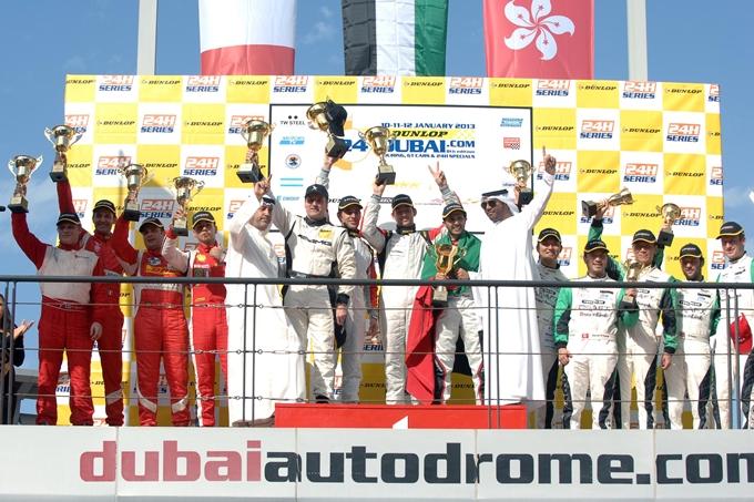 24 Ore di Dubai – Vince la Mercedes GT3 del Team Abu Dhabi by Black Falcon
