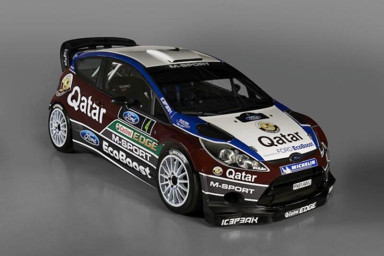 WRC – La nuova Ford Fiesta presentata in Inghilterra