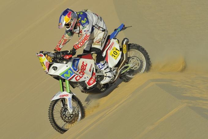 Dakar 2013 – Tra le moto domina Francisco Lopez