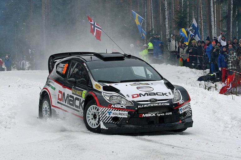 WRC – Ketomaa in Svezia con la Ford Autotek
