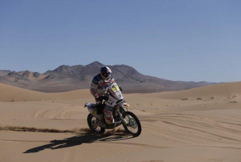 Dakar 2013 – Moto: Ancora Chaleco Lopez