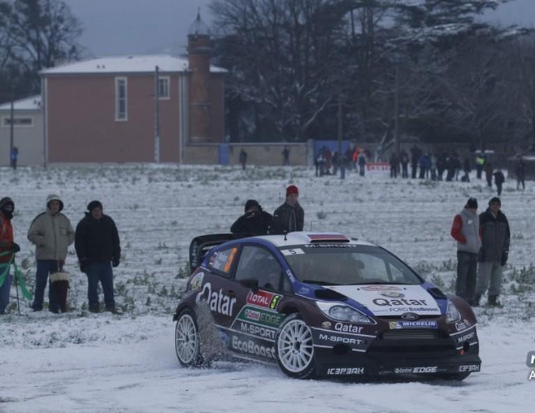 WRC – Il Montecarlo si apre con la neve e con Neuville