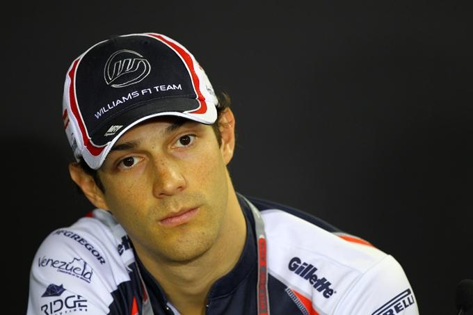 Bruno Senna al via del Mondiale Endurance