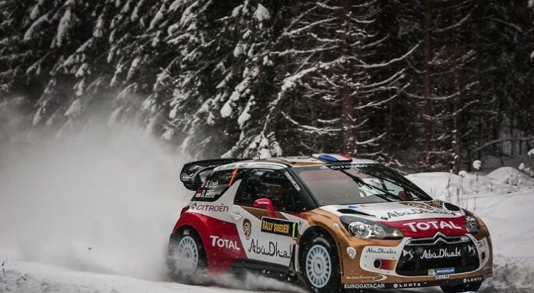 WRC – Loeb si fa già sentire al Rally di Svezia