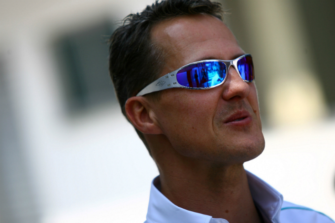 Michael Schumacher torna in pista
