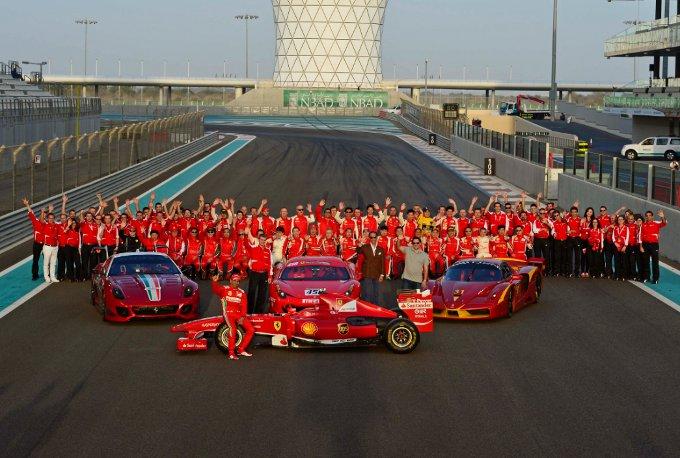 Successo per i Ferrari Racing Days di Abu Dhabi