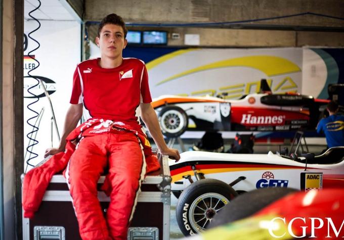 Marciello al via del FIA Formula 3 European Championship