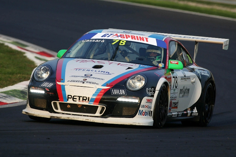 GTSprint International Series – Carboni e Cassarà con la 997 di Petri