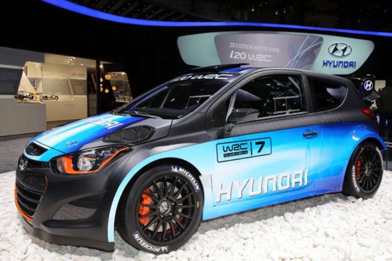 WRC – Presentata a Ginevra la Hyundai i20