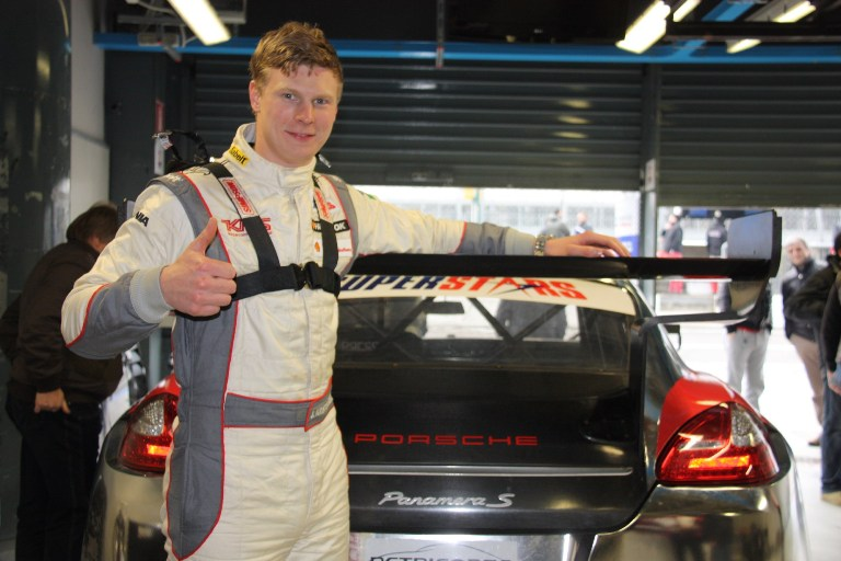 Superstars International Series – Kristoffersson con la Porsche della Petri Corse