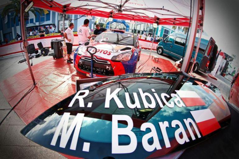 ERC – Kubica subito il più veloce nelle Canarie