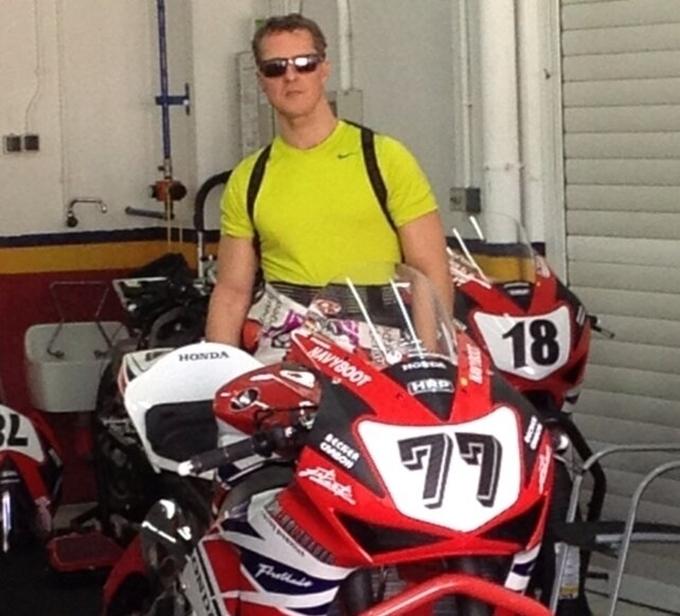 Il ritorno di Schumacher? A Valencia con la Honda