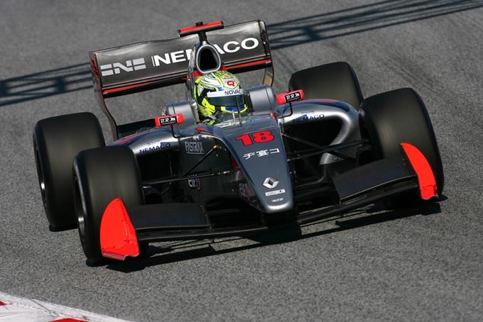 Formula Renault 3.5 – La sfortuna non ferma la Draco Racing