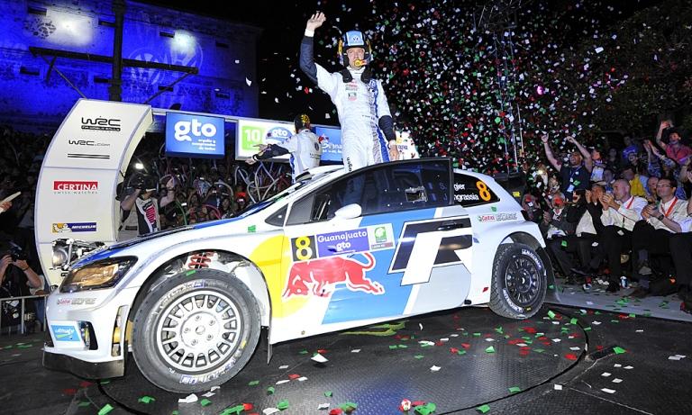 WRC – Sébastien Ogier re del Messico