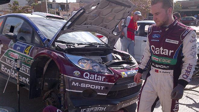 "WRC – Ostberg, ""Mai così deluso in carriera"""