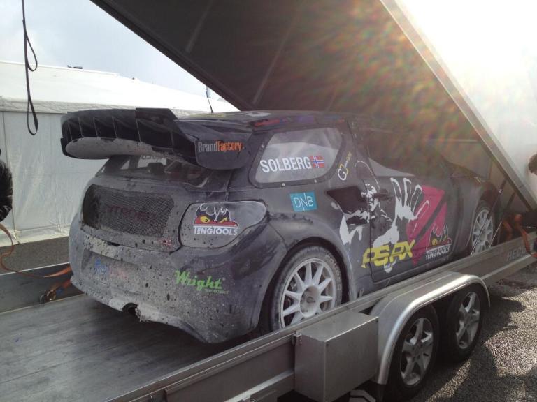Solberg debutta nel RallyCross Europeo