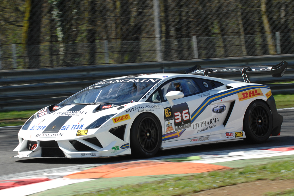 Brena a Misano con Lamborghini e Kia