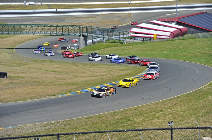 Il Ferrari Challenge arriva a Sonoma