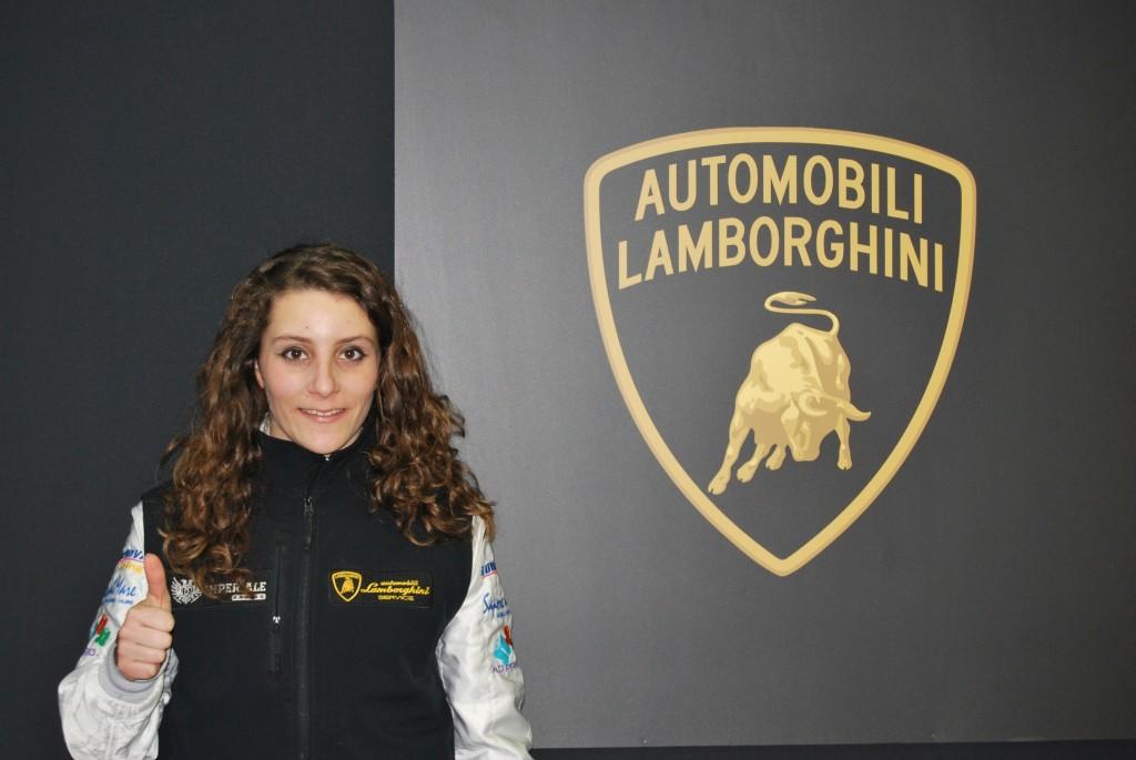 Alessandra Brena scalpita in vista di Monza