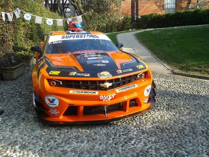 Superstars International Series – Chevrolet Camaro, spettacolare e ruggente