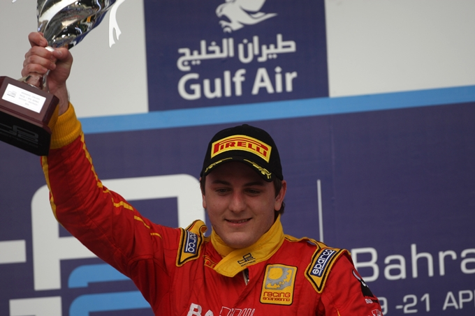 GP2 – Fabio Leimer re del Bahrain