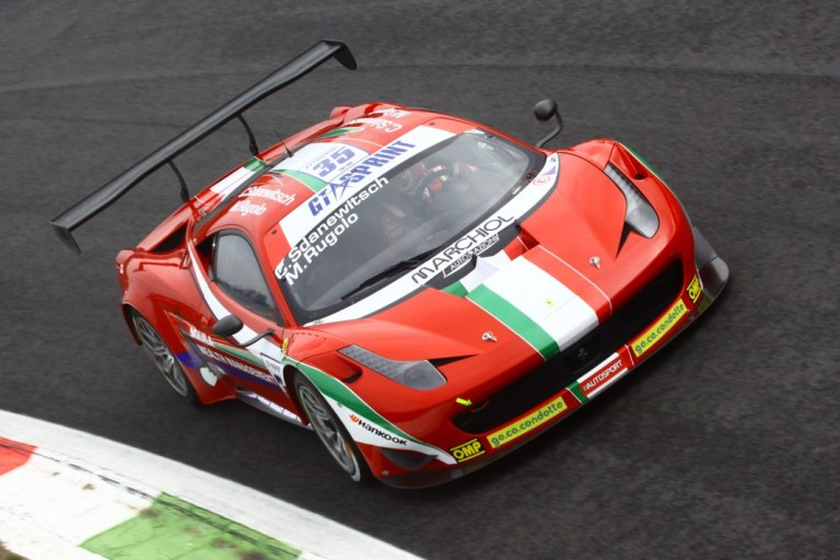 GtSprint International Series – AF Corse davanti anche nelle qualifiche