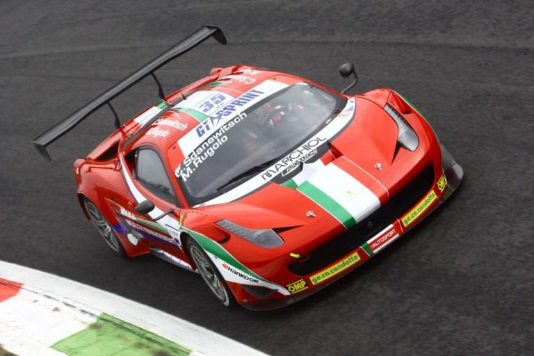 GtSprint International Series – AF Corse davanti anche nelle qualifiche